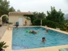 Kids enjoy the pool