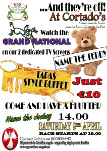 GA Grand National Event poster