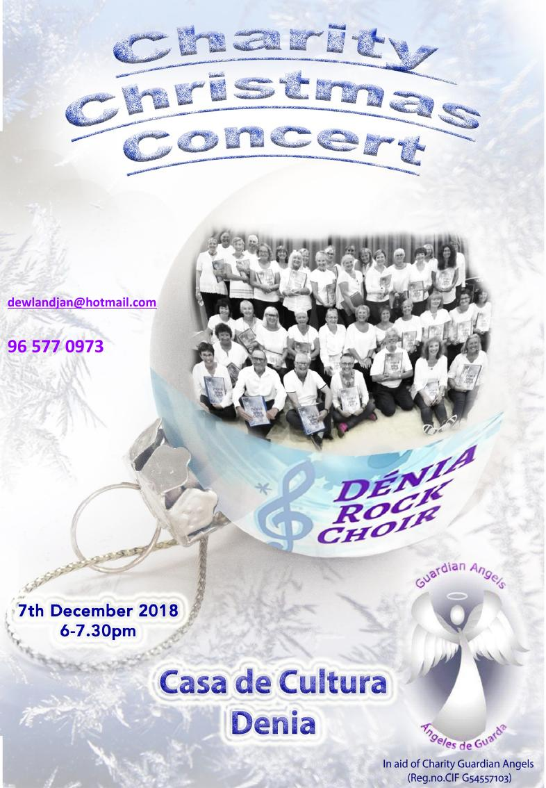 Denia Rock Choir Christmas Concert @ Casa de Cultura | Granollers | Catalunya | Spain